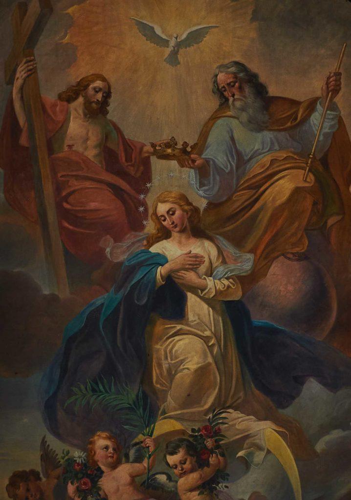 Wallfahrtskirche Kleinenberg - Aufnahme Mariens in den Himmel